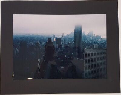 Wolff Buchholz, 'Manhattan in the evening', 1990