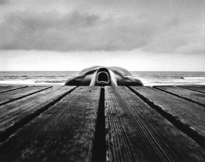Arno Rafael Minkkinen, 'Self-portrait, Narragansett, Rhode Island', 1973