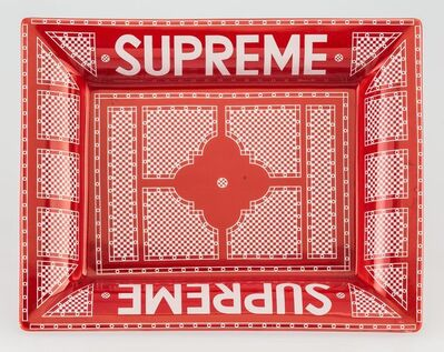 Supreme, 'Hermes Ashtray (Red and White)', c. 2012