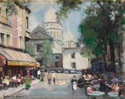 Jules René Hervé, 'Montmartre, Le Sacre-Coeur'
