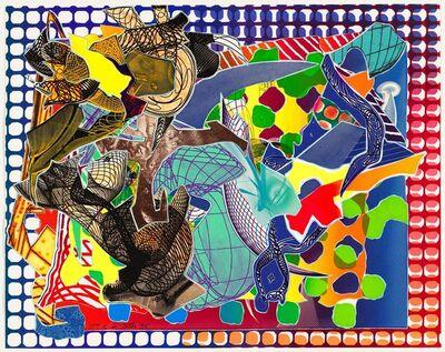 Frank Stella, 'East Euralia', 1995