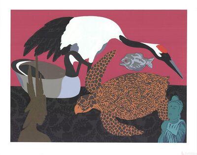 Hunt Slonem, 'Crane 2', 1979