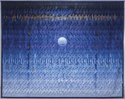 Abdoulaye Konaté, 'Lune bleue 2 PM ', 2019