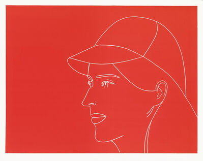 Alex Katz, 'Kym with Baseball Cap', 2007
