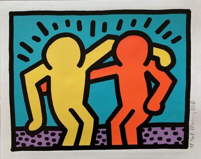 Keith Haring, 'Pop Shop I ', 1987