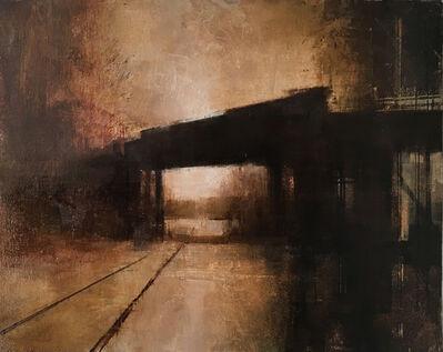 Charlie Hunter, 'January Bridge (Horizontal Study II)', 2018