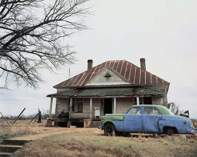William Christenberry, 'House and Car, near Akron, Alabama', 1981