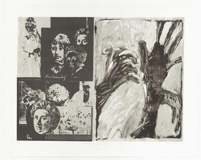 May Stevens, 'Ordinary Extraordinary I', 1982