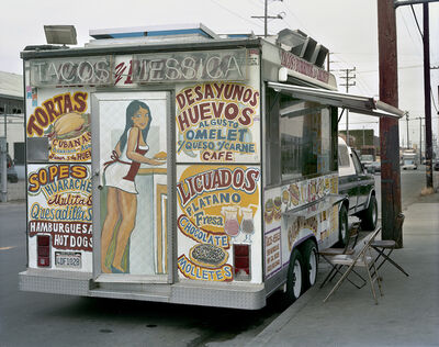 Jim Dow, 'Tacos Jessica Taco Truck, East Los Angeles, California', 2009