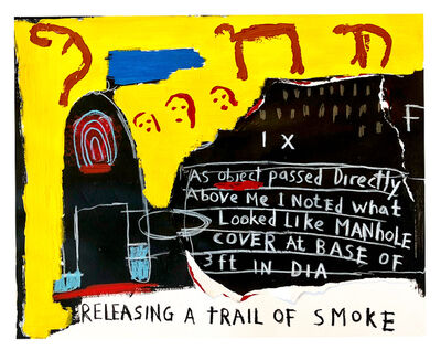 Roberto Del Rio, 'RELEASING A TRIAL OF SMOKE', 2018
