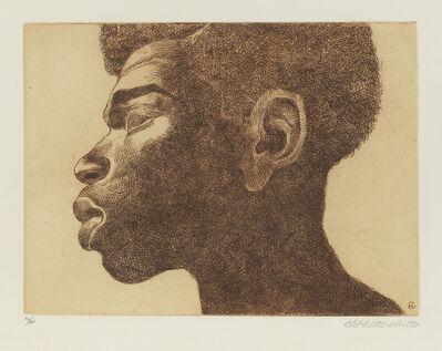 Charles White, 'Head of A Man', 1979