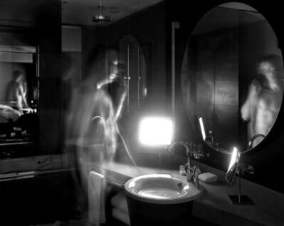 Matthew Pillsbury, 'Nathan Noland, Grand Hyatt Tokyo, CNN Japan (Monday, February 7th, 2005; 5:08-5/23am)', 2005