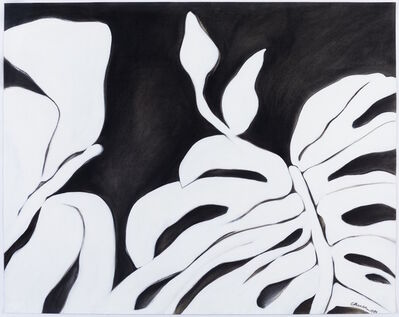 Ellen Chuse, 'White Leaves I', 1984