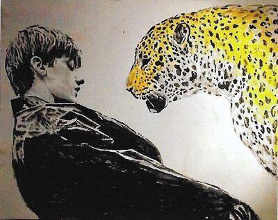 Andrea Saltini, 'Cheetah with boy', 2017