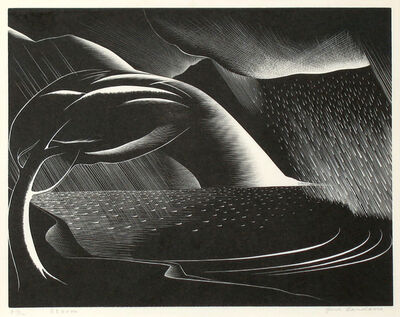 Paul Landacre, 'Storm', 1934
