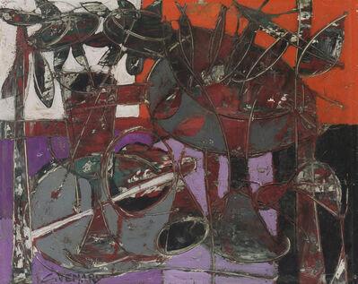 Claude Venard, 'Abstract still life'