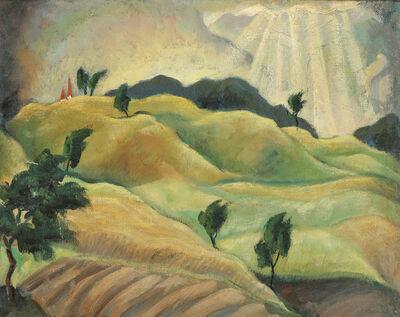 Herbert Gurschner, 'Sun-bathed Landscape', ca. 1933