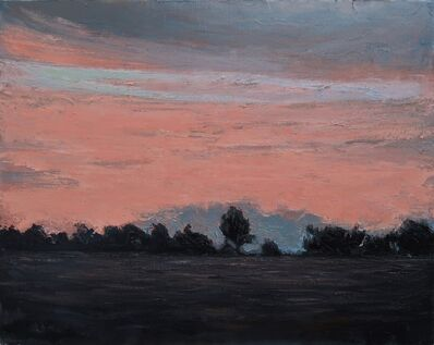 Albert Hadjiganev, 'Soir rose',