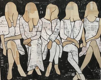 Jane Maxwell, 'Five Seated Girls'