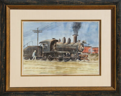 Reginald Marsh, 'Locomotive', 1932