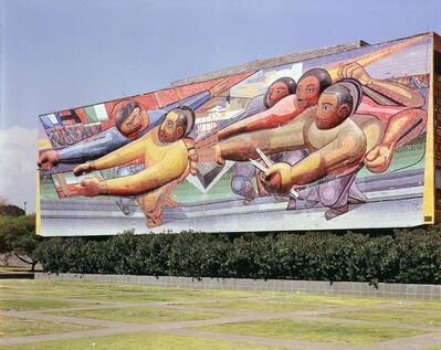 David Alfaro Siqueiros, 'The People to the University, the University to the People', 1952-1956
