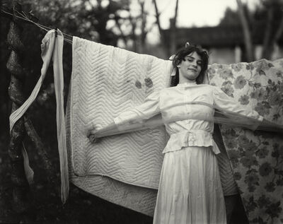 "Sally Mann, 'Untitled from the ""At Twelve"" Series, Jenny and the Bedspread', 1983-1985"