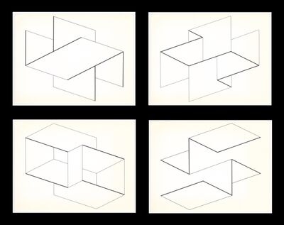 Josef Albers, 'Structural Constellations (set of 4)', 1958