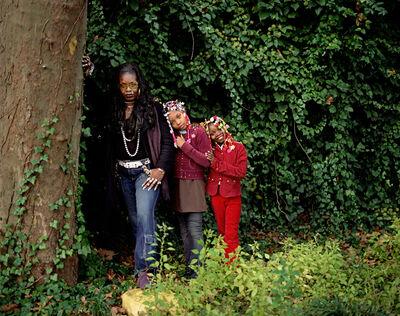 Deana Lawson, 'Wanda and Daughters', 2009