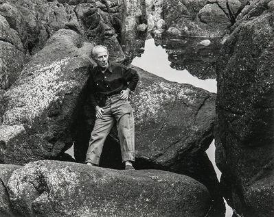 Cole Weston, 'Portrait of Edward Weston', 1946