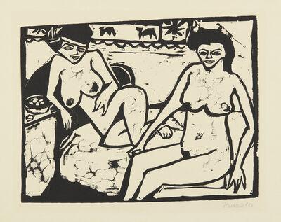 Erich Heckel, 'Zwei Frauen (Two Women)', 1910