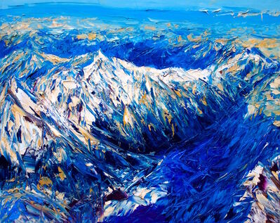 Holly Zandbergen, 'The Southern Alps From Above', 2019
