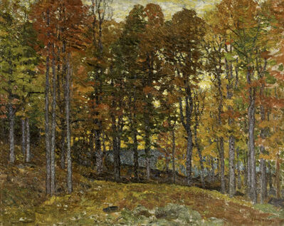 John Joseph Enneking, 'Autumn Jewels', ca. 1895
