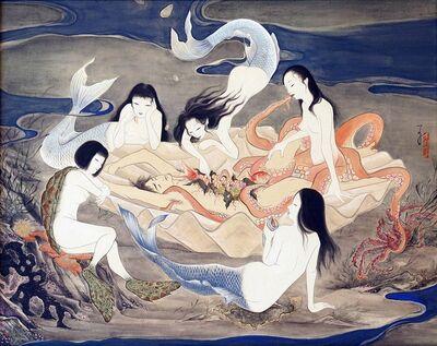 Ryoko Kimura, 'Beauty of my Dish - Banquet of Mermaids', 2018