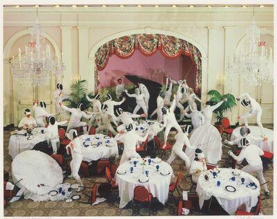Neal Slavin, 'Washington, D.C. Fencers Club', 1987