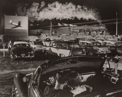 O. Winston Link, '[Hot Shot Eastbound, Iaeger Drive-in, Iaeger, West Virginia, August 2, 1956]'