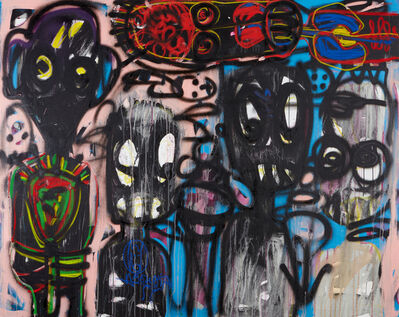 Aboudia, 'Untitled', 2016