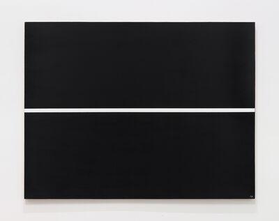Josip Vanista, 'White Line on a Black Surface', 1968-1997