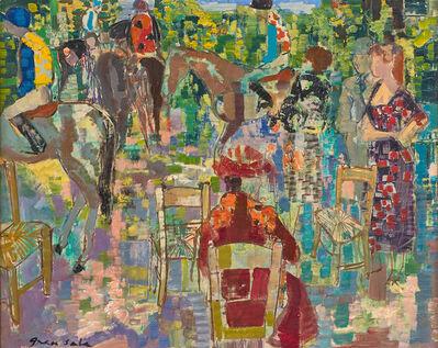 Emilio Grau Sala, 'Paddock, Deauville', 1962