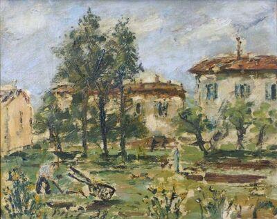 Filippo De Pisis, 'French Countryside', 1938