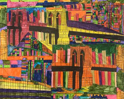 Robert Latchman, 'The Bridge With Optical Illusion', 2018