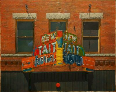 Joseph McNamara, 'NEW TAIT HOTEL (as seen from the Hotel Finlen, Butte, MT)', 2015