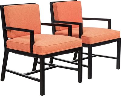 Tommi Parzinger, 'Pair of Armchairs', circa 1955