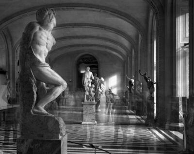 Matthew Pillsbury, 'L'esclave Rebelle, Musée du Louvre', 2010