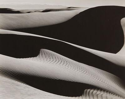 Edward Weston, 'Dunes at Oceano, California', 1936