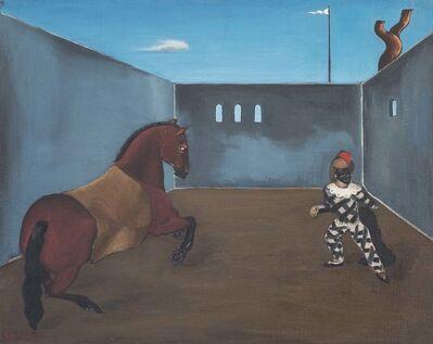 John Graham, 'Untitled (Horse and Pierrot)', 1927