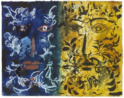 John Piper, 'Foliate Heads', ca. 1970