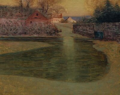 Lovell Birge Harrison, 'Winter - Late Afternoon'