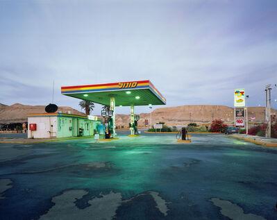 Yaakov Israel, 'gas station, Habiqah', 2006