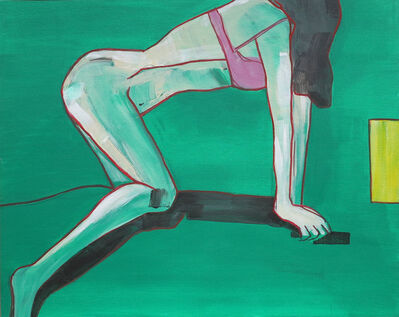 Michaela Rinaldi, 'Girl with the pink bra II', 2015