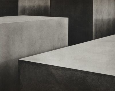 Jens Knigge, 'Field of Stelae - Holocaust Monument. Plate I', 2005